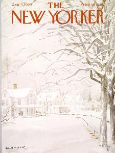 The New Yorker Cover - January 4, 1969 by Albert Hubbell