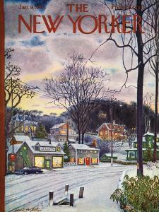 The New Yorker Cover - January 9, 1965 by Albert Hubbell