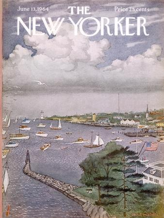 The New Yorker Cover - June 13, 1964