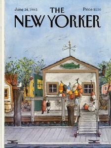 The New Yorker Cover - June 24, 1985 by Albert Hubbell