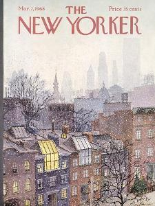 The New Yorker Cover - March 2, 1968 by Albert Hubbell