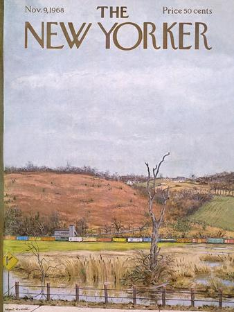 The New Yorker Cover - November 9, 1968