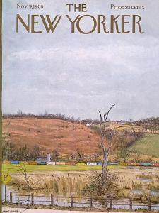 The New Yorker Cover - November 9, 1968 by Albert Hubbell