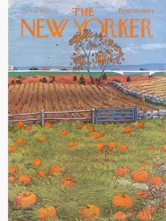 The New Yorker Cover - October 28, 1972