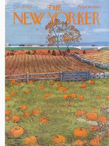 The New Yorker Cover - October 28, 1972 by Albert Hubbell