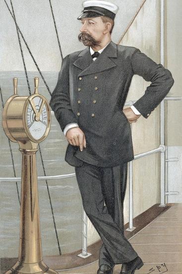 Albert I, Prince of Monaco (1848-192), Amateur Oceanographer, 1900-Spy-Giclee Print