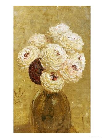A Vase of Dahlias