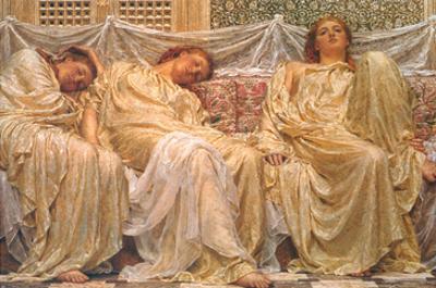 Dreamers by Albert Joseph Moore