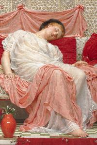 Jasmine by Albert Joseph Moore