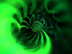 Abstract Green Design by Albert Klein