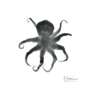 Black Octopus by Albert Koetsier