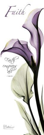 Calla Lily in Purple, Faith by Albert Koetsier