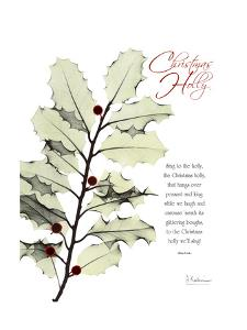 Christmas Holly by Albert Koetsier