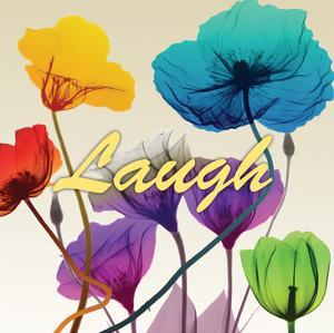Floral Calm Pop Laugh by Albert Koetsier