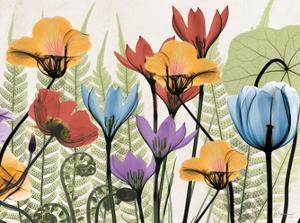 Flowers And Ferns Again by Albert Koetsier