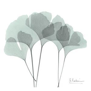 Ginkgo in Pale Blue by Albert Koetsier