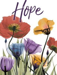 Hopeful Flowerscape by Albert Koetsier