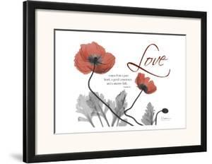 Love Poppies in Red by Albert Koetsier