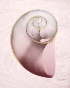 Marble Blush Snail 2 by Albert Koetsier