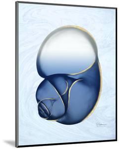 Marble Indigo Snail 1 by Albert Koetsier