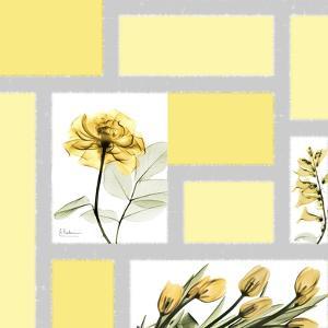 Mondrian Flowers 1 by Albert Koetsier