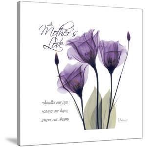 Mothers, Purple Tulips by Albert Koetsier