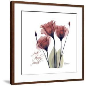 Red Tulip Faith by Albert Koetsier