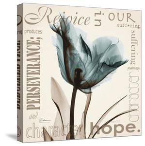 Rejoice, Blue Tulip by Albert Koetsier