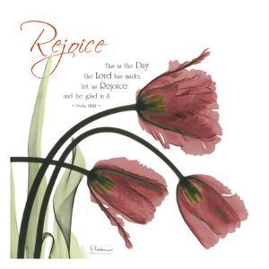 Rejoicing Tulips by Albert Koetsier