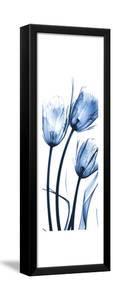 Three Blue Tulips by Albert Koetsier