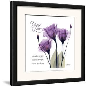 Your Love, Purple Tulip by Albert Koetsier