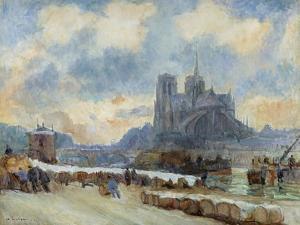 Notre Dame, Paris by Albert Lebourg