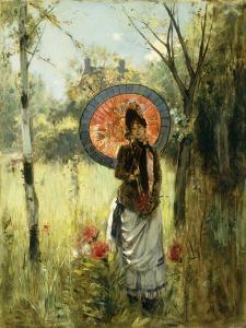A Summer Stroll by Albert Lynch