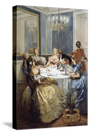 Parisian Ladies of Second Empire, 1886