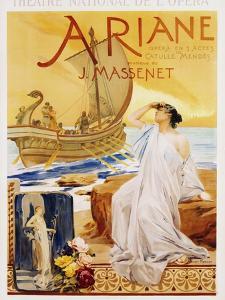 Ariane Poster by Albert Maignan