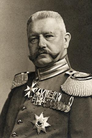 General Field Marshal Von Hindenburg, 1923