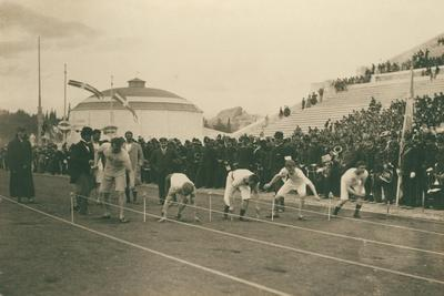 Olympic Games, 1896, Preparation for the 100-Meter Race, 1896