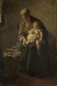 Mother and Child by Albert Neuhuys