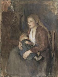 Nordic Madonna, C. 1890-1910 by Albert Neuhuys