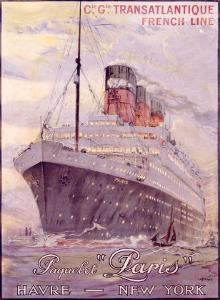 Transatlantique, Paquebot by Albert Sebille