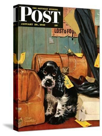 """""""Butch in Lost & Found,"""" Saturday Evening Post Cover, January 29, 1949"""