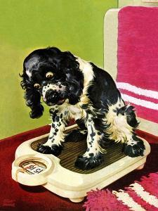 """""""Butch Weighs In,"""" September 1, 1945 by Albert Staehle"""