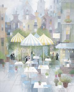 Cafe Montmartre by Albert Swayhoover