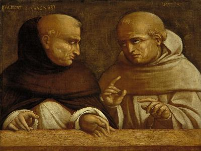 Albert the Great and Giovanni Duns Scotus-Bernardo Bellotto-Giclee Print