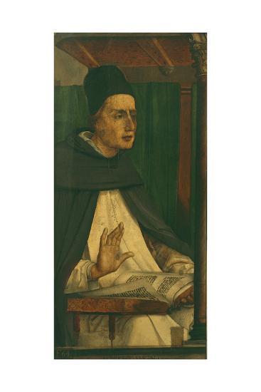 Albert the Great-P. Joos van Gent and Berruguete-Giclee Print