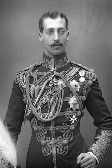 Albert Victor, Duke of Clarence (1864-189), English Prince, C1890--Photographic Print