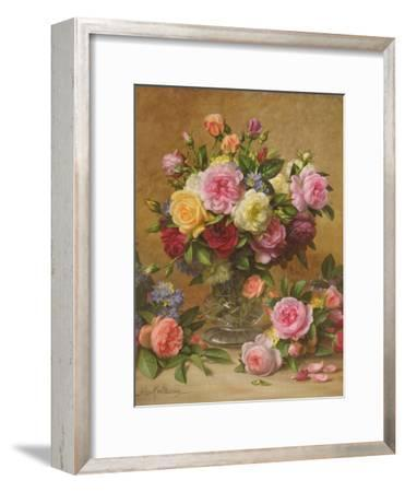 A Cluster of Victorian Roses