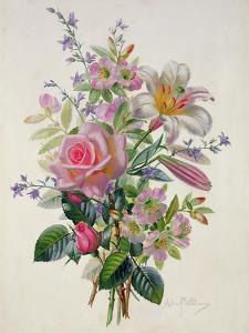 A Pink Bouquet by Albert Williams