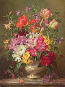 A Spring Floral Arrangement, 1996 by Albert Williams