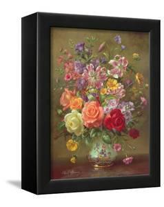 A Summer Floral Arrangement, 1996 by Albert Williams